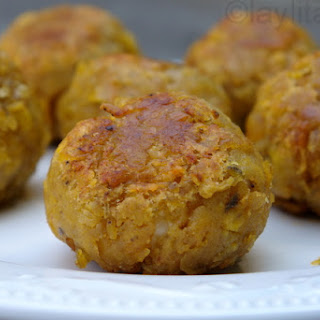 Bolon De Verde Or Fried Green Plantain Dumplings