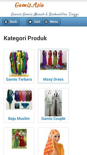 Toko Online Baju Gamis Terbaru