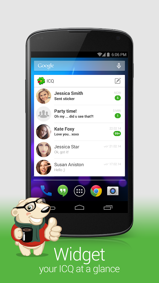 ICQ- Free chat and video calls - screenshot
