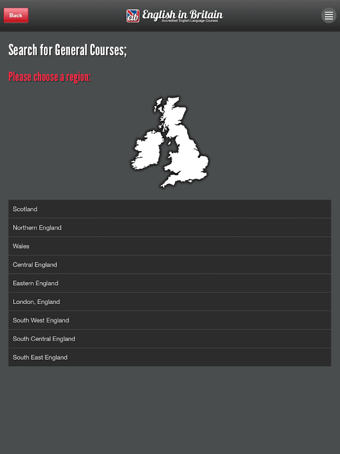 English in Britain- screenshot