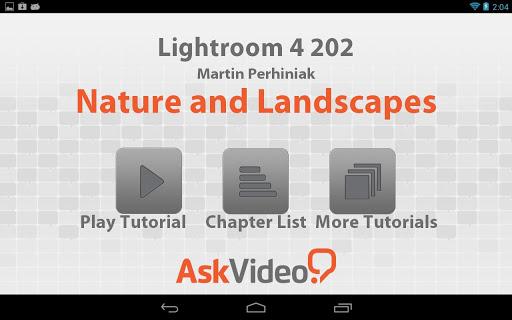 Lightroom 4 Landscape Nature
