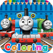Thomas Train&Friends Coloring