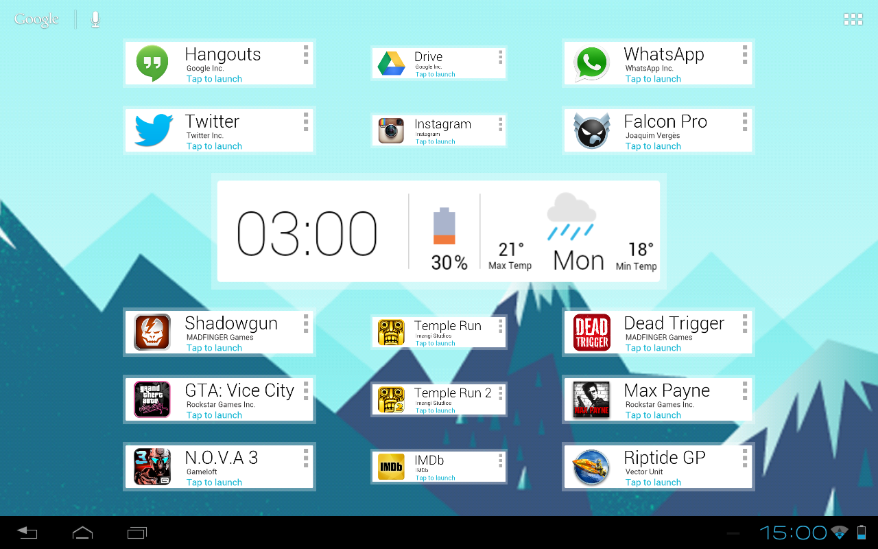 Now Cards UI UCCW Skin - screenshot