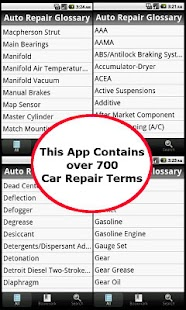 玩免費交通運輸APP|下載Auto Repair Glossary app不用錢|硬是要APP