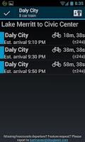 Screenshot of BART Runner