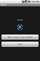 Screenshot of Beacon