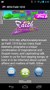 WFAI Faith 1510 - screenshot thumbnail