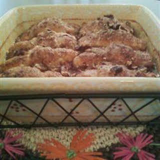 Mountain Apple Cobbler.