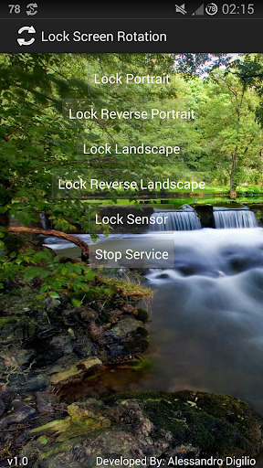 Lock Screen Rotation