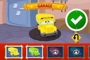 Screenshot of Alphabet Car