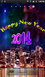 New Year HD Live Wallpaper- screenshot thumbnail