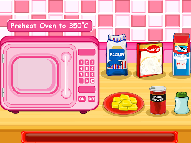 android Cooking Ice Cream Cone Cupcake Screenshot 2