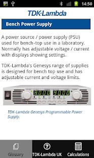 PSU Glossary- screenshot thumbnail