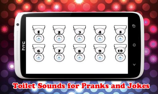 卫生间有趣的声音冲洗应用