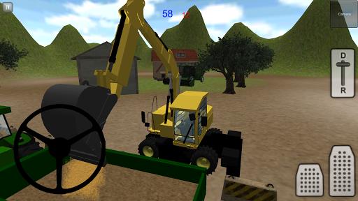拖拉机模拟器3D:沙