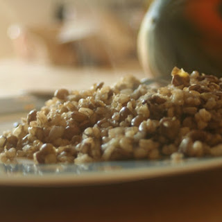 Brown Rice with Lentils.