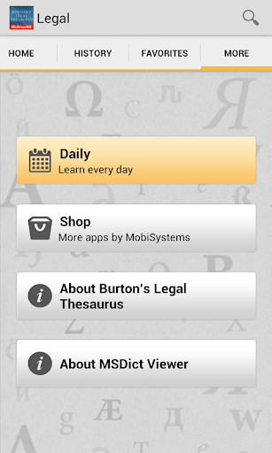 【免費書籍App】Burton's Legal Thesaurus TR-APP點子