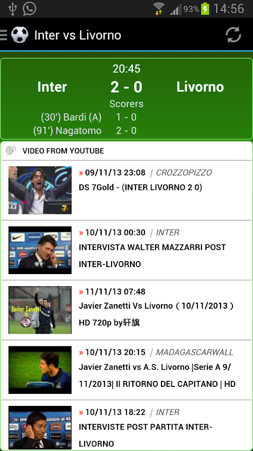 Italian Football 2013/2014 - screenshot