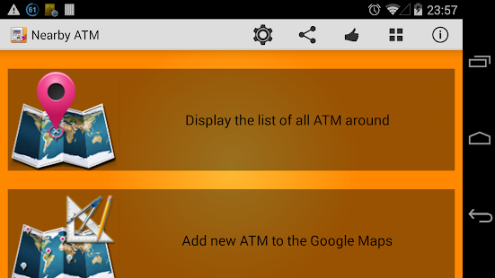 Nearby ATM (bank Locator)- screenshot thumbnail