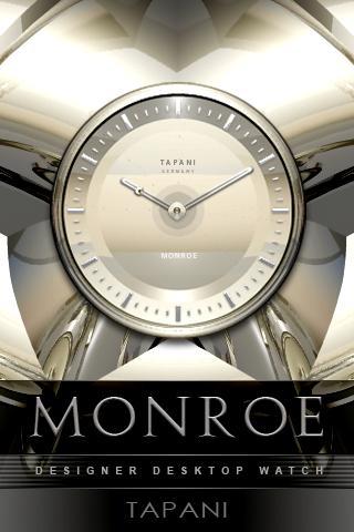 MONROE Designer Clock Widget