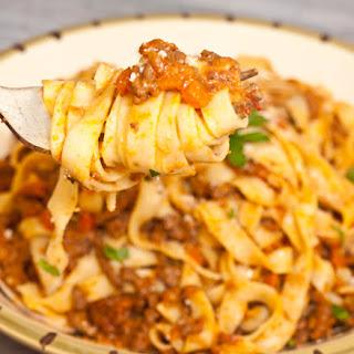 Fettucini Bolognese Recipe