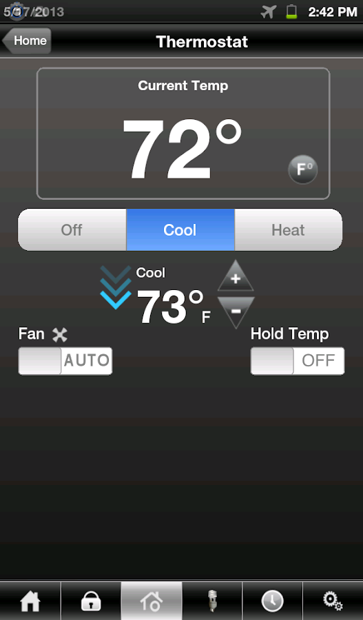 TWC IntelligentHome - screenshot