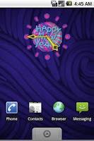 Screenshot of Handmade Xmas Clock