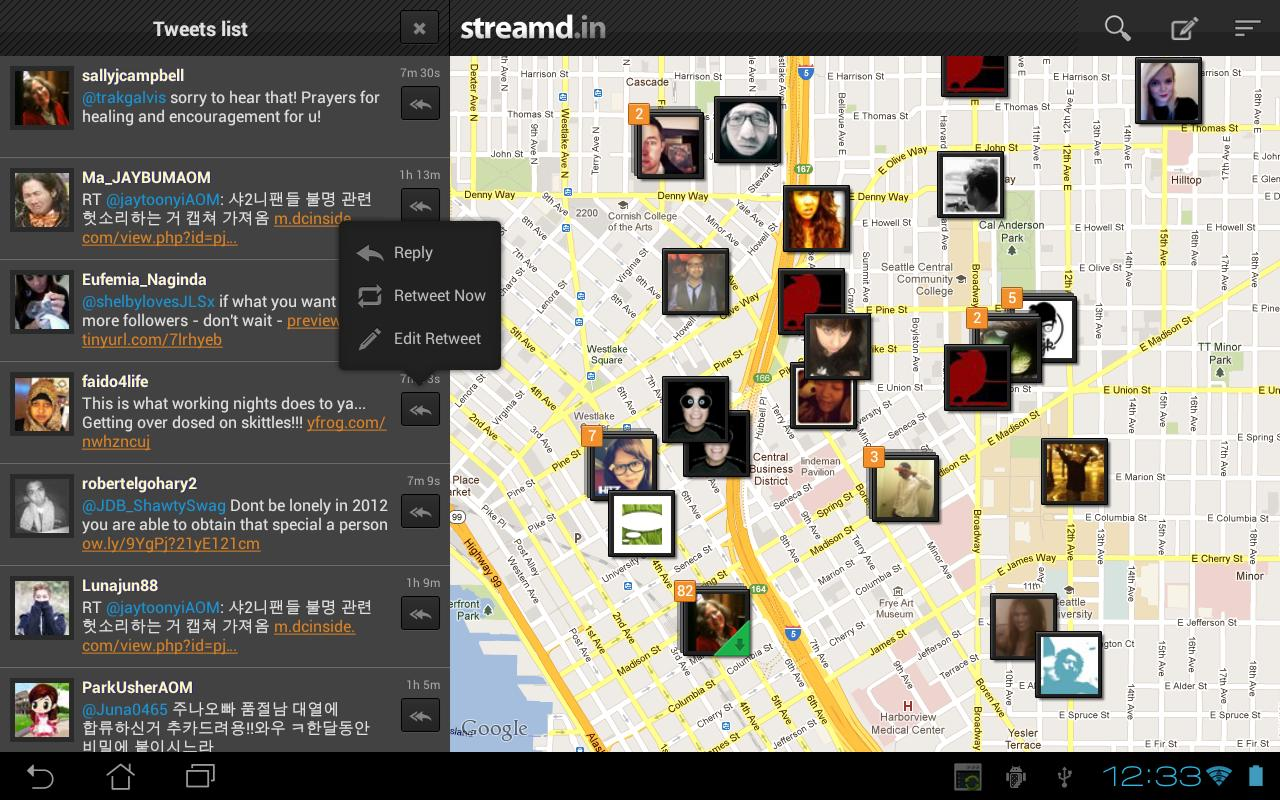 Streamd.in - screenshot