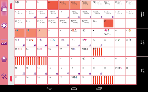 WomanLog Pro Calendar - screenshot thumbnail