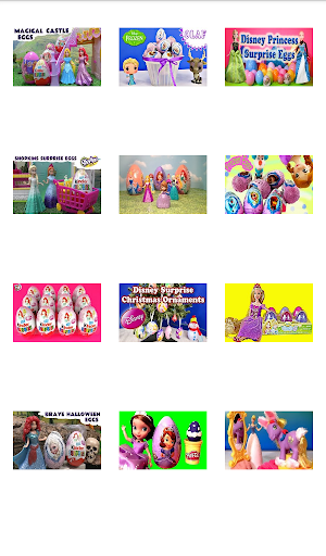 Surprise Eggs - Princess Fun