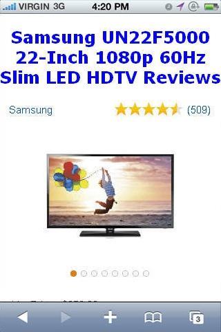UN22F5000 Slim LED HDTV Review