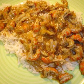 Crazy Easy Crawfish Etouffee