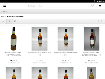 Rum Company Onlineshop - screenshot thumbnail