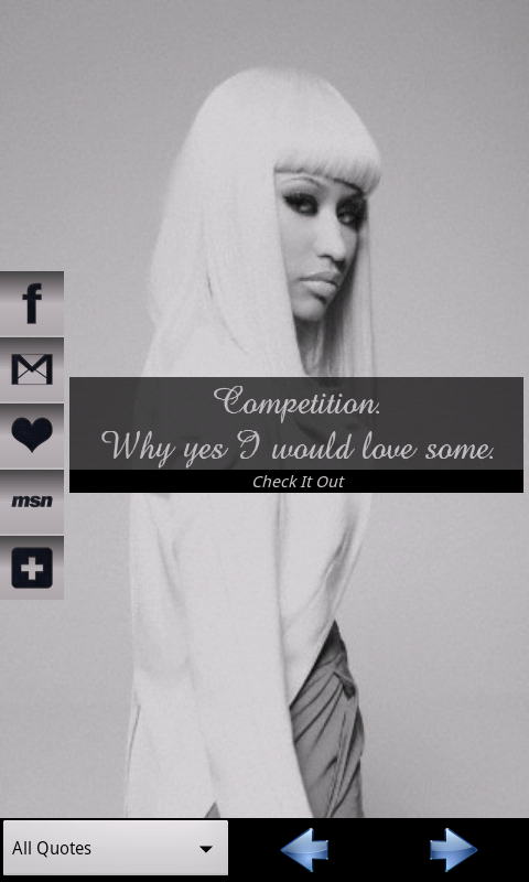 Nicki Minaj Quotes - screenshot