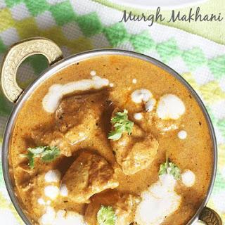 Butter Chicken Recipe, Punjabi Murgh Makhani