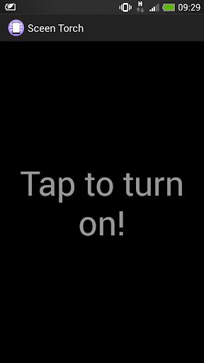 Screen Torch
