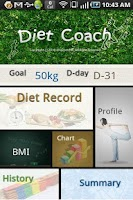 Screenshot of DietCoach