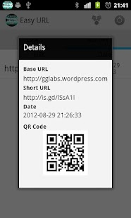 Easy URL Shortener- screenshot thumbnail