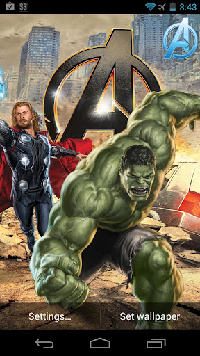 The Avengers Live Wallpaper Full v1.7