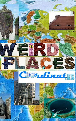 Weird Places Map