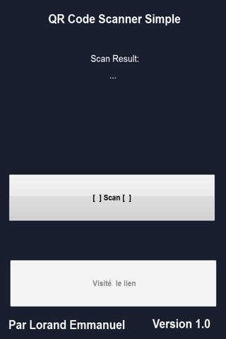 QR Code Scanner Simple