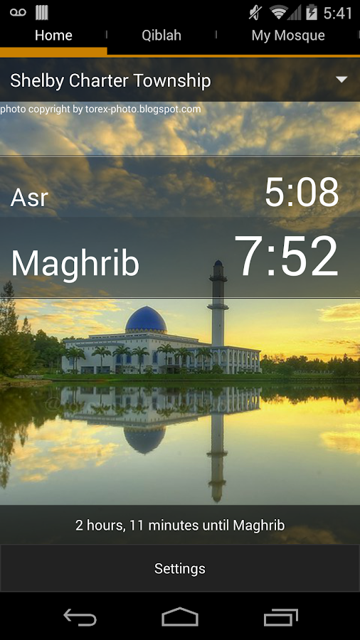 Muslim Azan & Prayer Times - screenshot
