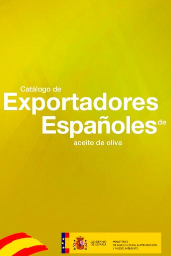 Exportadores aceite de oliva
