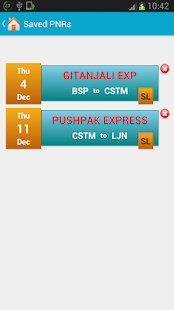 Indian Rail Train Info- screenshot thumbnail