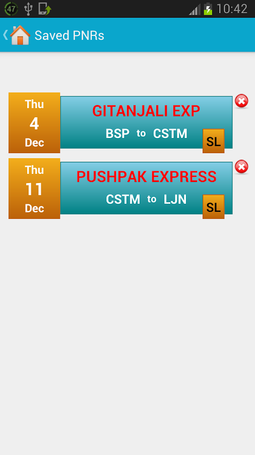 Indian Rail Train Info- screenshot