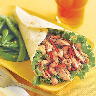 Hoisin Chicken Wraps.