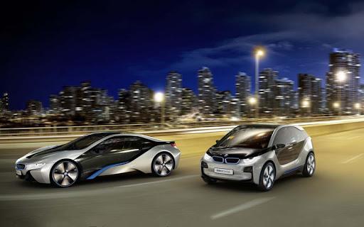 Traffic rush: BMW Drag Racing