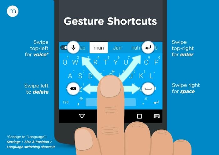 Minuum Keyboard + Smart Emoji- screenshot