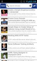 Screenshot of C# Corner