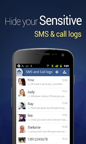 android Vault-Hide SMS,  Pics & Videos Screenshot 3